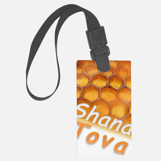 Shana-Tova Honey drawing Happy R Luggage Tag