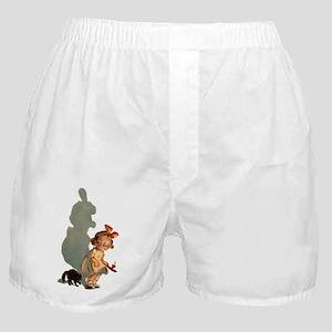 scared girl Boxer Shorts
