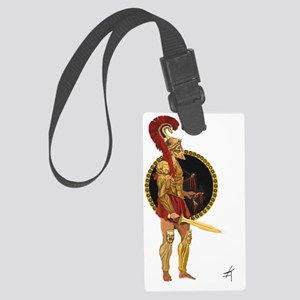GREEK WARRIOR Large Luggage Tag