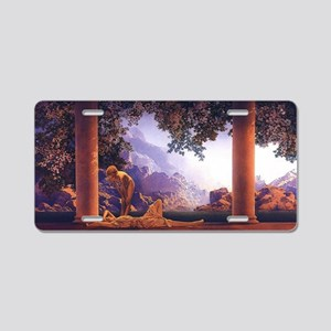 Maxfield Parrish Daybreak Aluminum License Plate