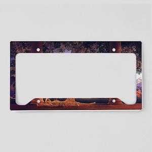 Maxfield Parrish Daybreak License Plate Holder
