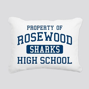 Property Of Rosewood Sha Rectangular Canvas Pillow