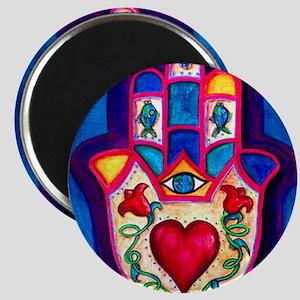 Heart Hamsa by Rossanna Nagli Magnet