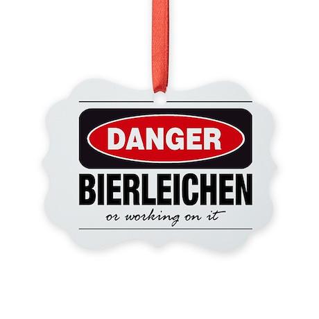 Bierleichen or Working On It Picture Ornament