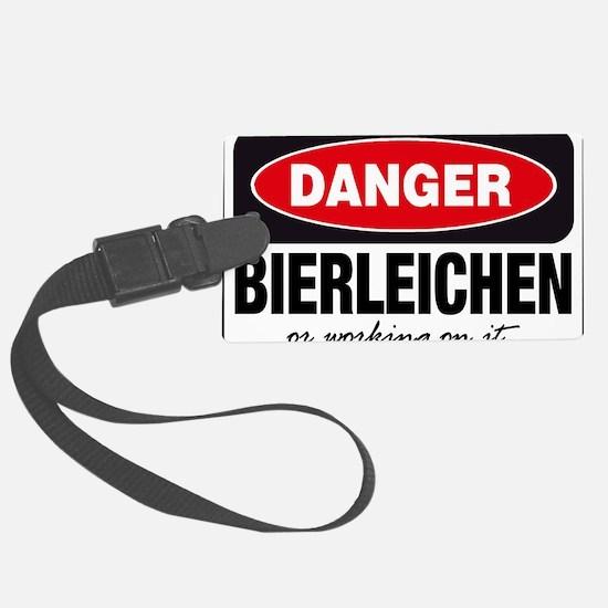 Bierleichen or Working On It Luggage Tag