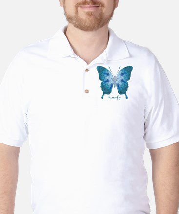 Zephyr Butterfly Golf Shirt