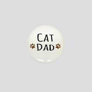 Cat Dad Mini Button