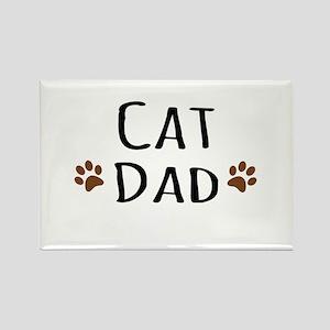 Cat Dad Magnets