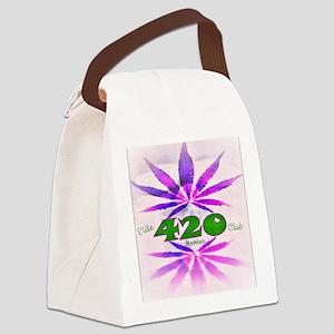 Lady Bud Canvas Lunch Bag