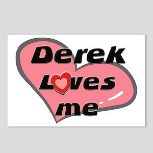 derek loves me  Postcards (Package of 8)