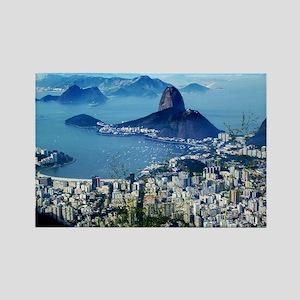 Corcovado - Rio De Janeiro Brazil Rectangle Magnet