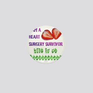 HeartSurgerySurvivor Mini Button