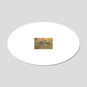 pumiliken3 20x12 Oval Wall Decal