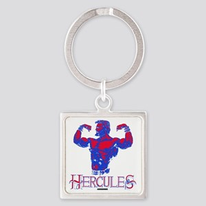 Hercules Square Keychain