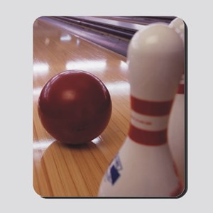 Bowling Alley Mousepad
