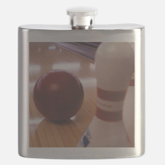 Bowling Alley Flask