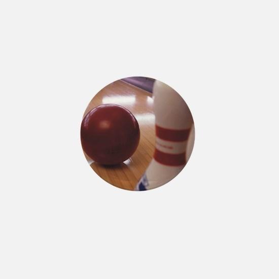 Bowling Alley Mini Button