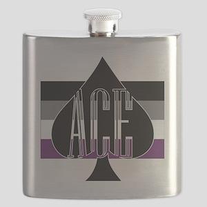 Ace Spade Flask