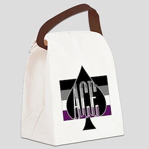 Ace Spade Canvas Lunch Bag