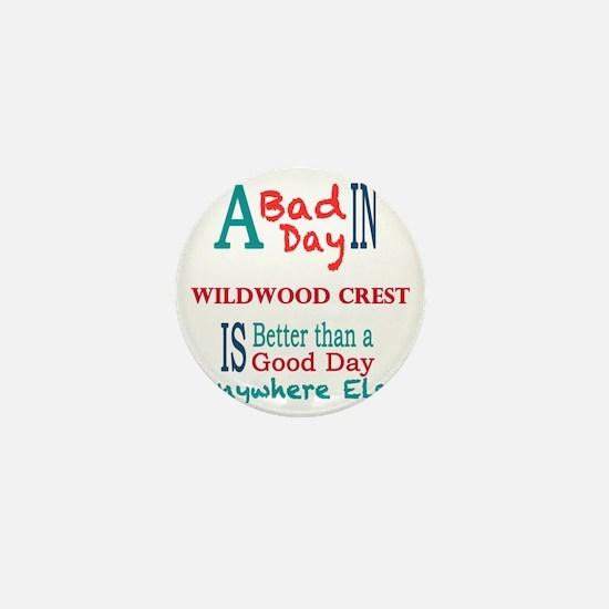 Wildwood Crest Mini Button