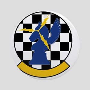 USAF 963rd Airborne Air Control Squ Round Ornament