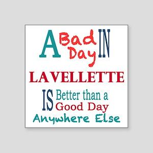 """Lavallette Square Sticker 3"""" x 3"""""""