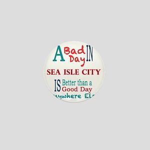 Sea Isle City Mini Button