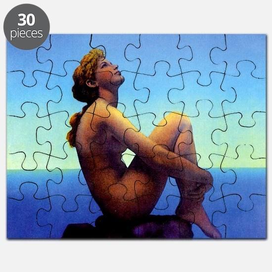 Maxfield Parrish Stars Puzzle
