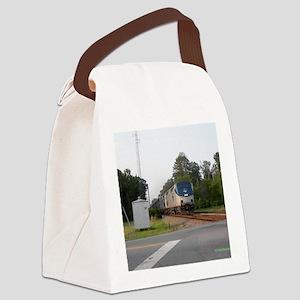 Jan Train1 Canvas Lunch Bag