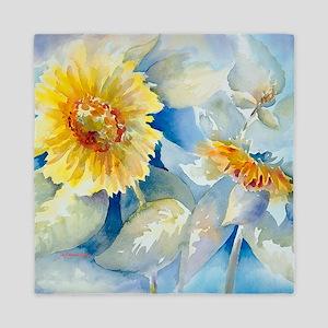 Sunflowers SQ Queen Duvet