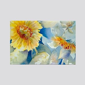 Sunflowers SQ Rectangle Magnet