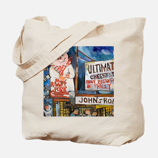 Philadelphia Johns Roast Pork Tote Bag