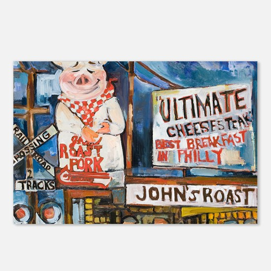 Philadelphia Johns Roast  Postcards (Package of 8)