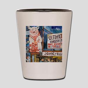Philadelphia Johns Roast Pork Shot Glass