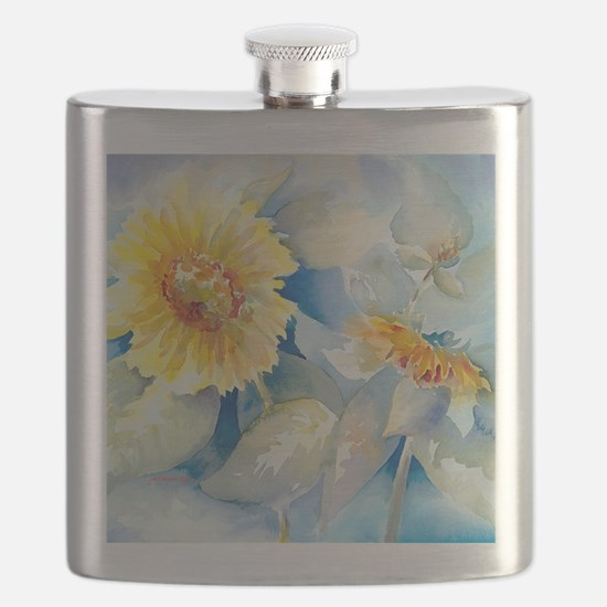 Sunflowers SQ2 Flask
