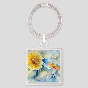Sunflowers SQ2 Square Keychain