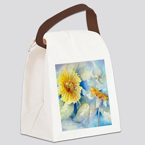 Sunflowers SQ2 Canvas Lunch Bag