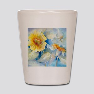 Sunflowers SQ2 Shot Glass