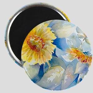 Sunflowers SQ2 Magnet