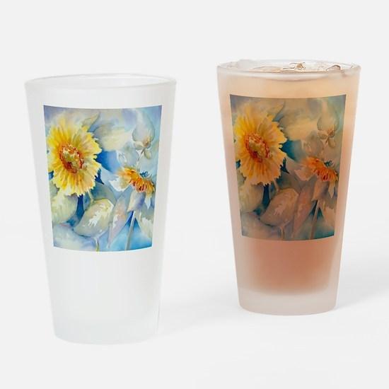 Sunflowers SQ2 Drinking Glass