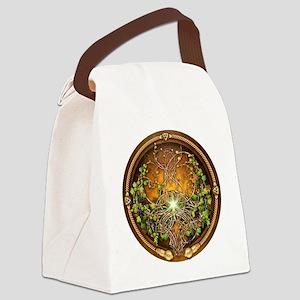 Sacred Celtic Trees - Vine Canvas Lunch Bag