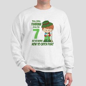 Seven Year Old Fisherman Sweatshirt