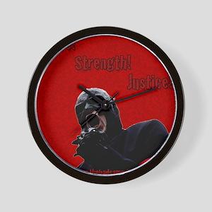 The Bad Samaritan - Peace! Strength! Ju Wall Clock