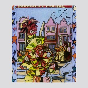 Philadelphia Mummers Parade Throw Blanket