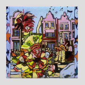 Philadelphia Mummers Parade Tile Coaster