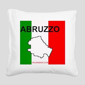 Abruzzo Mouse Pad Square Canvas Pillow