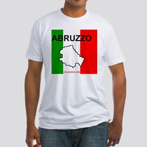 Abruzzo Mouse Pad Fitted T-Shirt