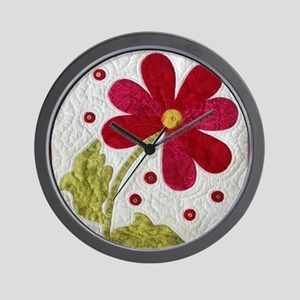 Give Yourself Flowers Today Wall Clock