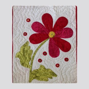 Give Yourself Flowers Today Throw Blanket