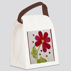 Give Yourself Flowers Today Canvas Lunch Bag